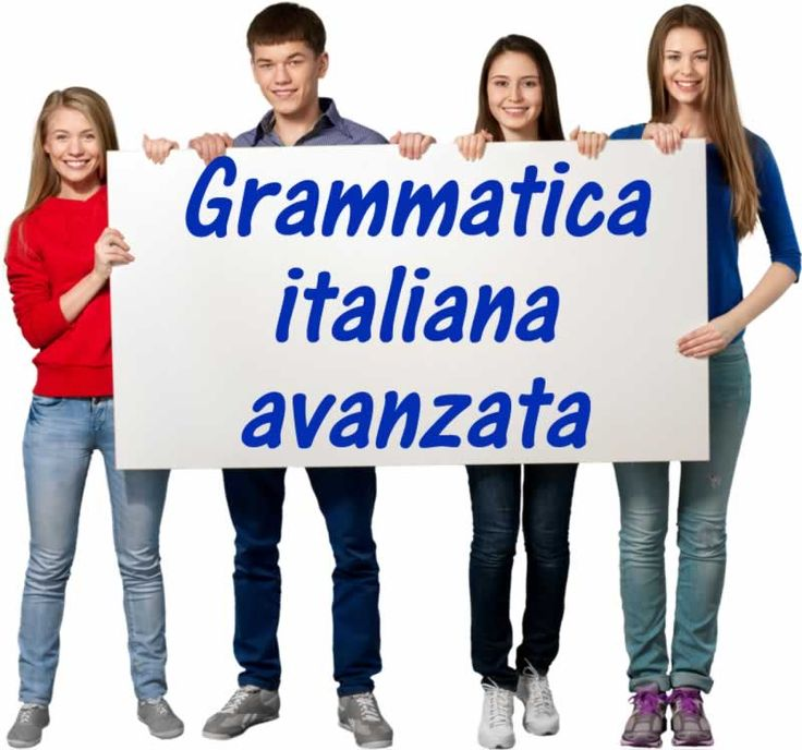 Grammatica italiana avanzata