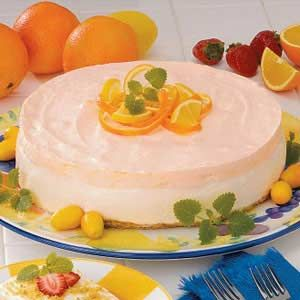 Orange Cream Cheesecake Recipe  I love this recipe and find myself looking for the recipe each Spring -  usually for Easter!