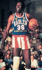"Meadowlark Lemon; 1932-2015 American Basketball Player, Entertainer. Lemon, born Meadow Lemon III, was known as the ""Clown Prince"" of the world traveling Harlem Globetrotters basketball team."