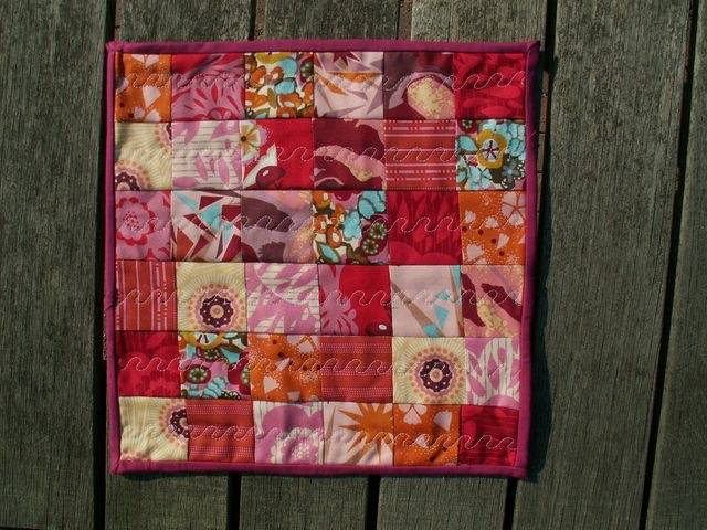 11 Little Quilt of Love #8 by Alphenquilts, via Flickr