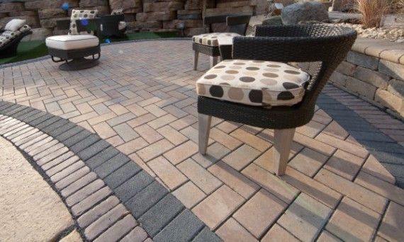 Unilock Patio with Eco-Priora Permeable Paver