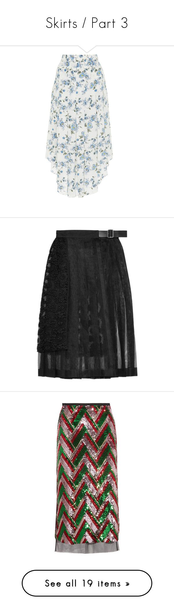 """""""Skirts / Part 3"""" by olinka1408 ❤ liked on Polyvore featuring skirts, floral, print midi skirt, white high waisted skirt, high-waisted skirt, high waisted floral skirt, midi skirt, bottoms, tulle and pleated midi skirts"""