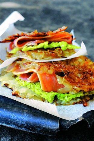 Galette croustillante de chou et pommes de terre - Larousse Cuisine