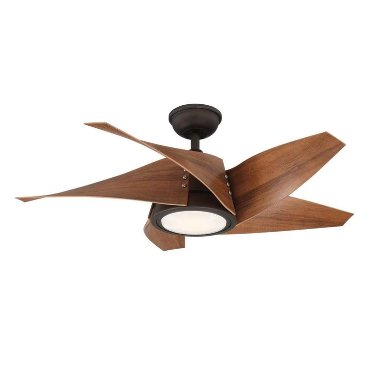 Home Decorators Collection Broughton 42 In Led Espresso Bronze Ceiling Fan With Remote Control Yg671 Eb The Home Depot Bronze Ceiling Fan Ceiling Fan With Remote Ceiling Fan