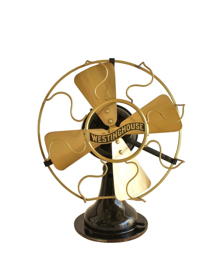 1910 Westinghouse Electric Brass Fan $345