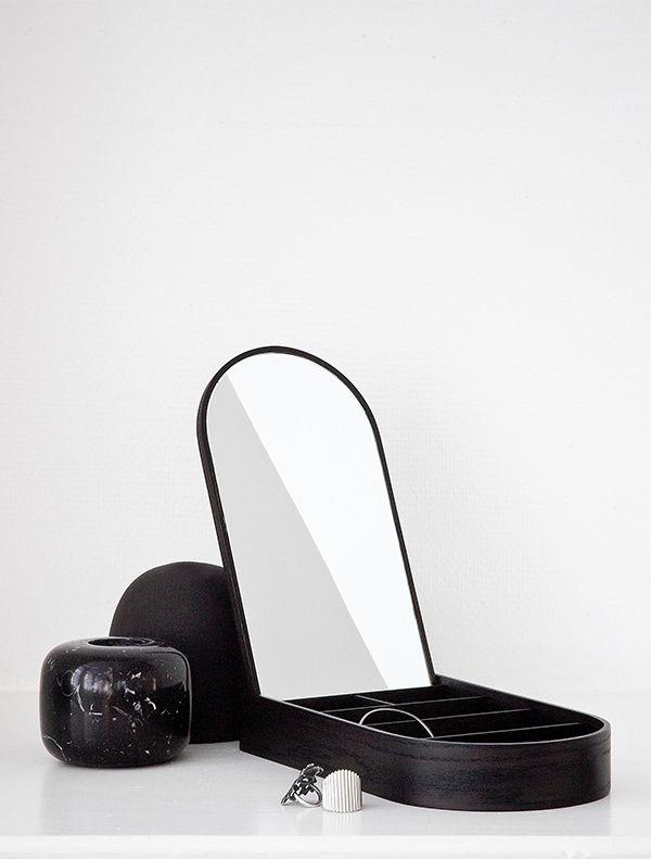 Jewellery Box Black Ash