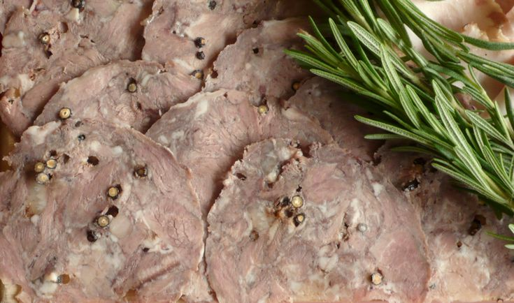 Sopressata or pig head made pretty | An Italian cooking in The Midwest