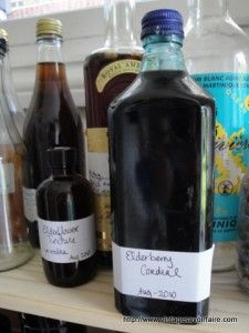 Grandma knew how to make Elderberry Cordial.