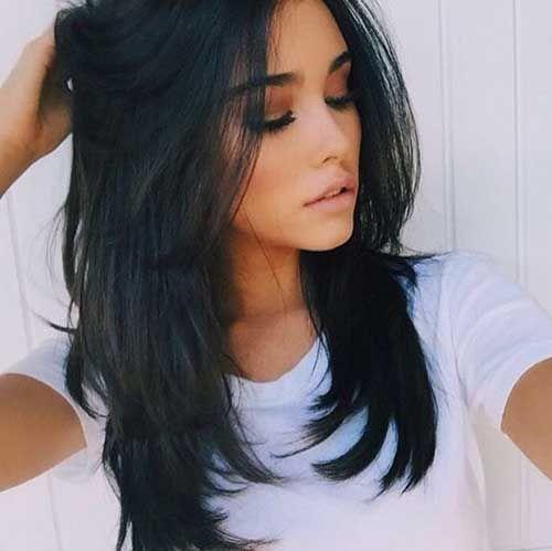 15.Medium to Long Hair