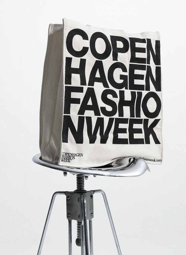 Seasonal logo for Copenhagen Fashion Week by Homework.