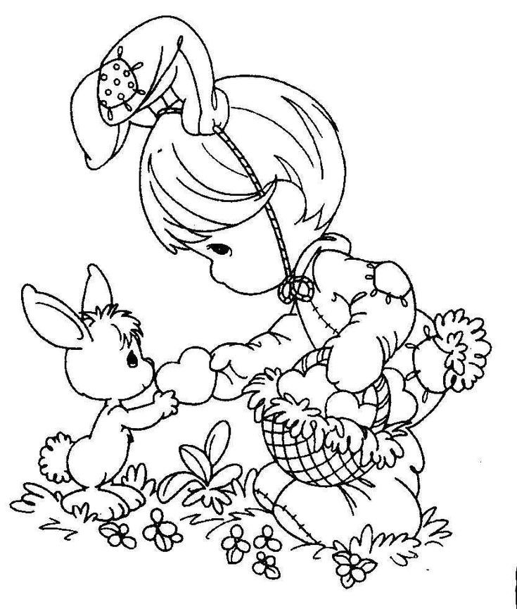 Image Detail For Moms Bookshelf More Easter Coloring Pages