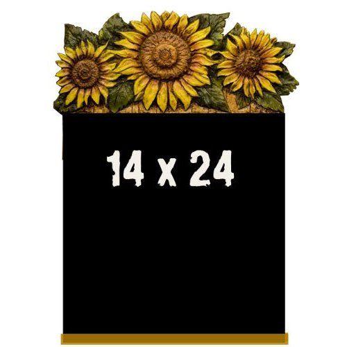 Sunflower Kitchen Accessories | Sunflower Kitchen Decor Chalkboard  Blackboard: Kitchen U0026 Dining