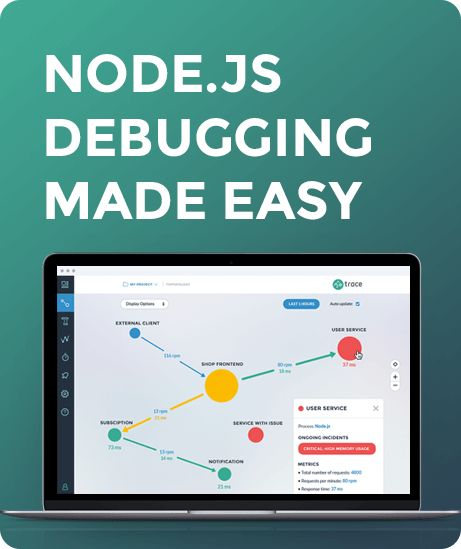 3 Node.js tutorial videos to help you become a better developer. Debugging your applications, using async, finding memory leaks & CPU profiling inside!