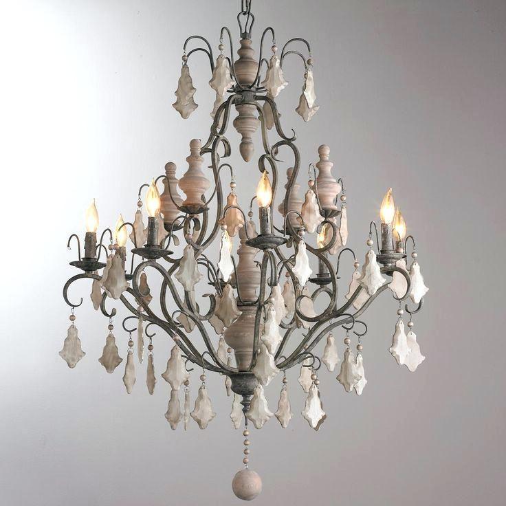 Image Result For Baroque Wood Crystal Chandelier Medium Unique