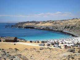 Playa La Virgen, hermosa playa, cerca de Bahia Inglesa