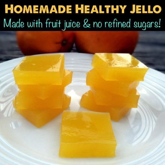 Learn how to make healthy, homemade and EASY jello!  PrimallyInspired.com