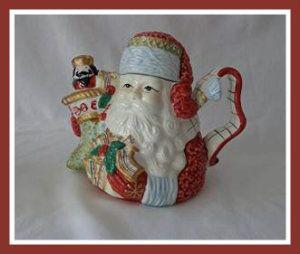 Ceramic Tea Pots – St. Nicholas, Avon Collectible Avon Collectibles Teapot St. Nicholas. Measures Approx 7″ High. Nice quality ceramic.  http://bit.ly/1T6KDQq