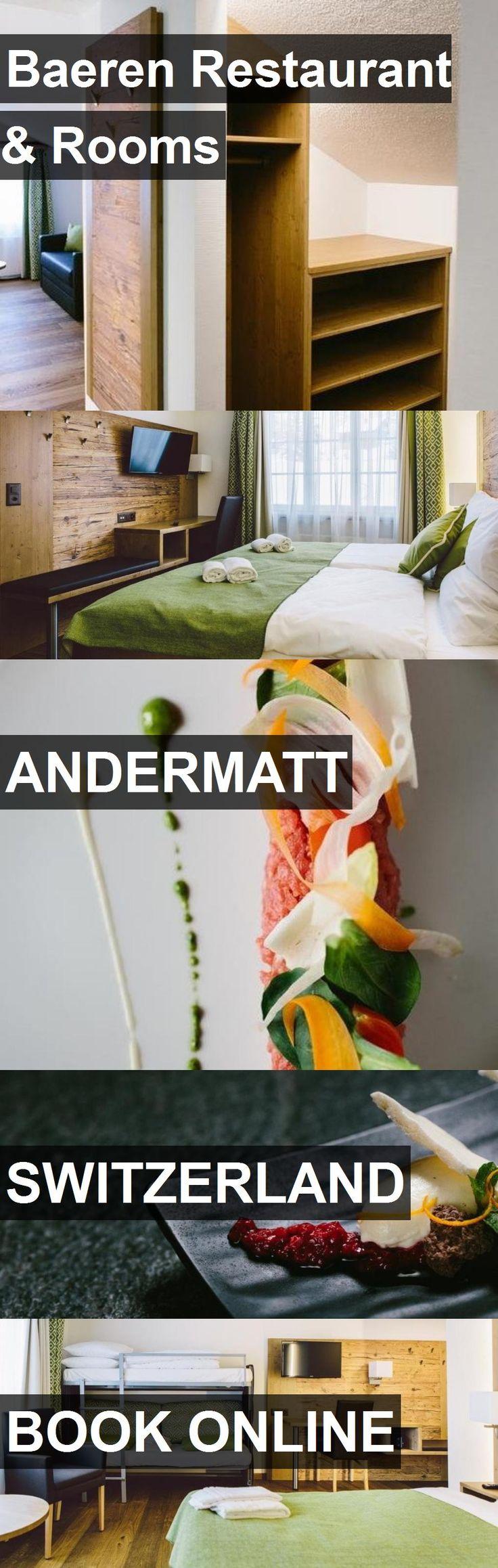 Hotel Baeren Restaurant