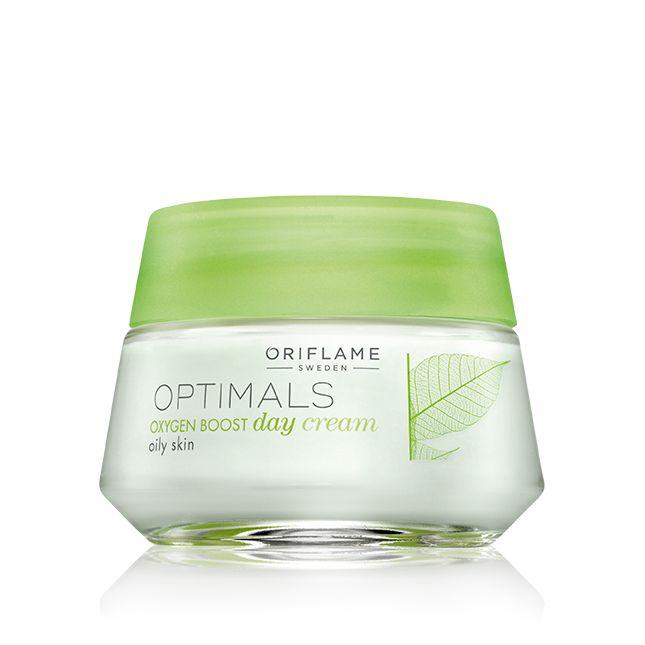 Crema de Día Oxygen Boost para Piel Grasa Optimals #oriflame
