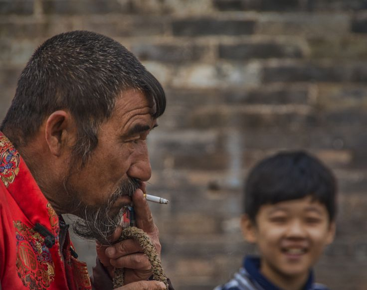 The quiet man... - China , Asia