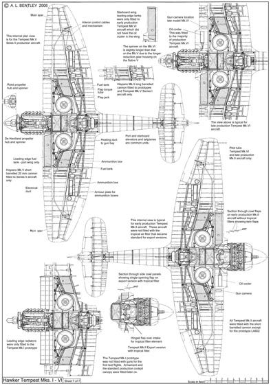 Hawker Tempest list 7