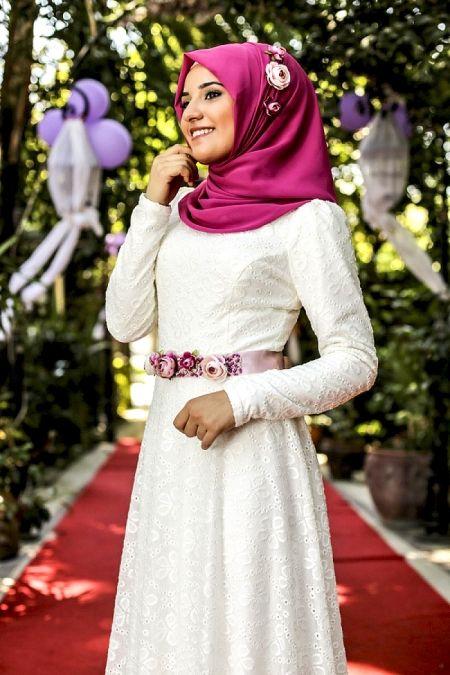Alya Elbise Ekru Rana Zen