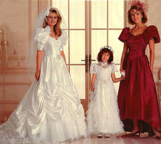 Vintage Wedding Dresses 80s: 343 Best Images About 1980's Wedding Dress On Pinterest