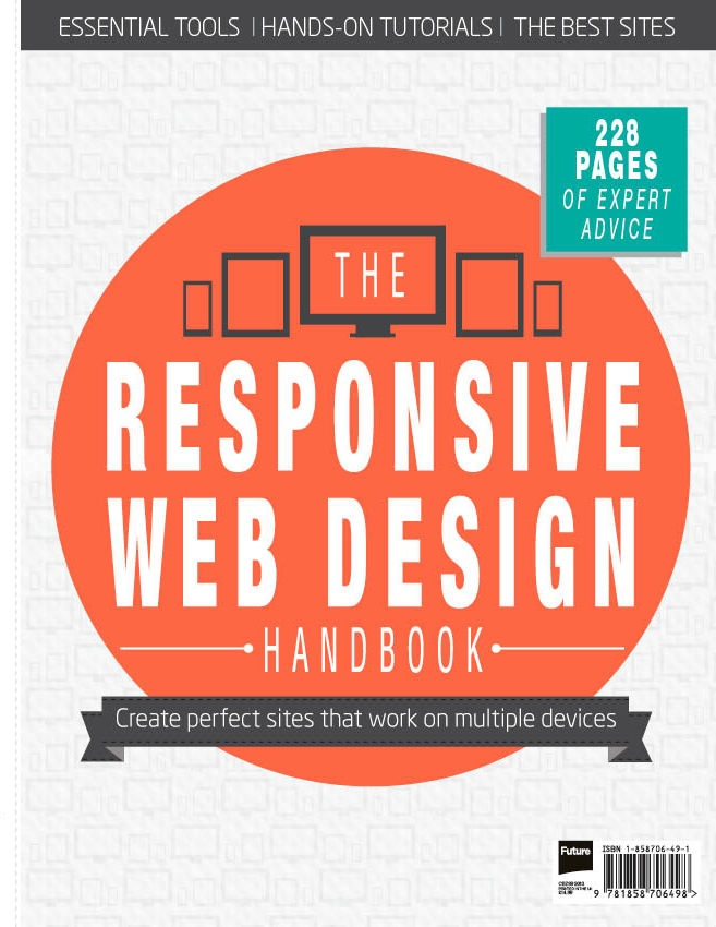 Responsive web design is one of the hottest topics right now, and this guide includes everything you need to get started! With contributions by leading experts of the movement, including Ethan Marcotte, Brad Frost and Luke Wroblewski, as well as more than 20 practical projects covering both the basics and advanced strategies, youll create excellent responsive experiences in no time.