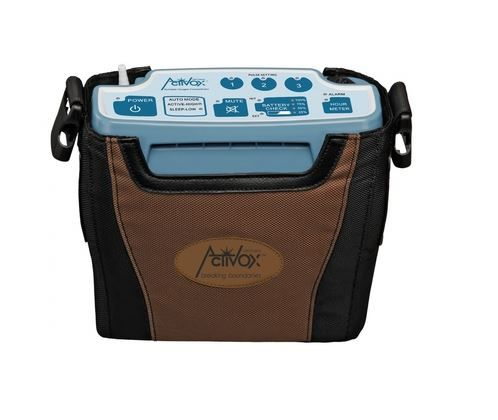 The LifeChoice ActivOx Sport Portable Oxygen Concentrator (POC) is the first and only portable concentrator weighing in under 4 pounds and powered by an internal battery. At just 3.9 pounds, the LifeChoice ActivOx Sport model oxygen concentrator is truly a no hassle, pick-up-and-go oxygen system.