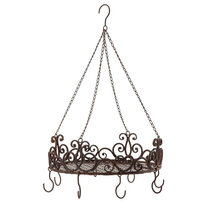 suspension de cuisine en m tal effet rouille d 52 cm ForSuspension Metal Cuisine