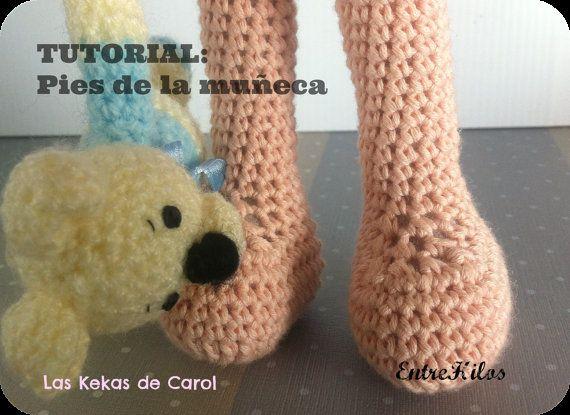 Amigurumi Feet Tutorial : 1000+ images about Amigurumis on Pinterest Amigurumi ...