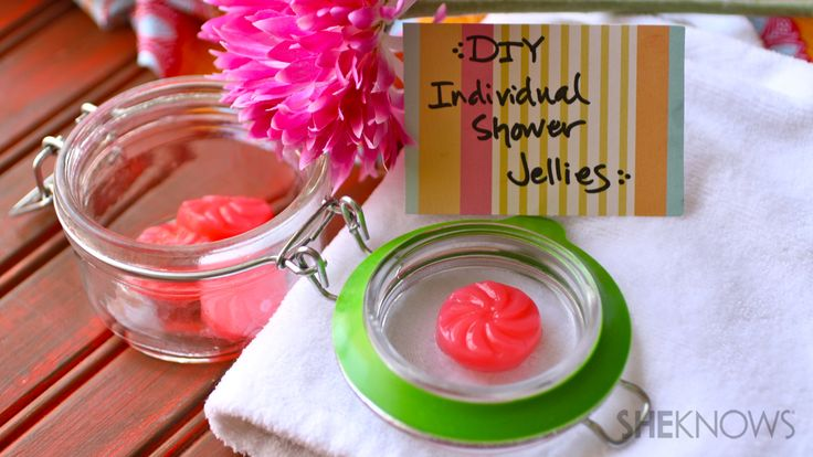 DIY individual shower jellies fit in somewhere between a bar of soap and shower gel, but they're way more fun to use when it's time to hit the shower. Description from ipick.ca. I searched for this on bing.com/images