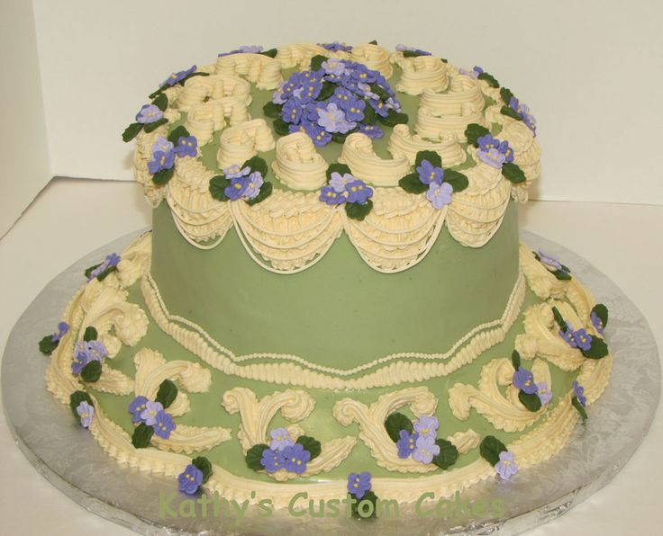 lambeth style cakes   Lambeth and Violets — Lambeth and Stringwork