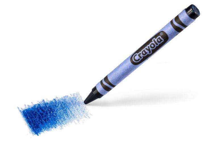 The YInMn blue crayon. Courtesy of Crayola.