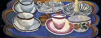 Tea things - Vanessa bell 1919