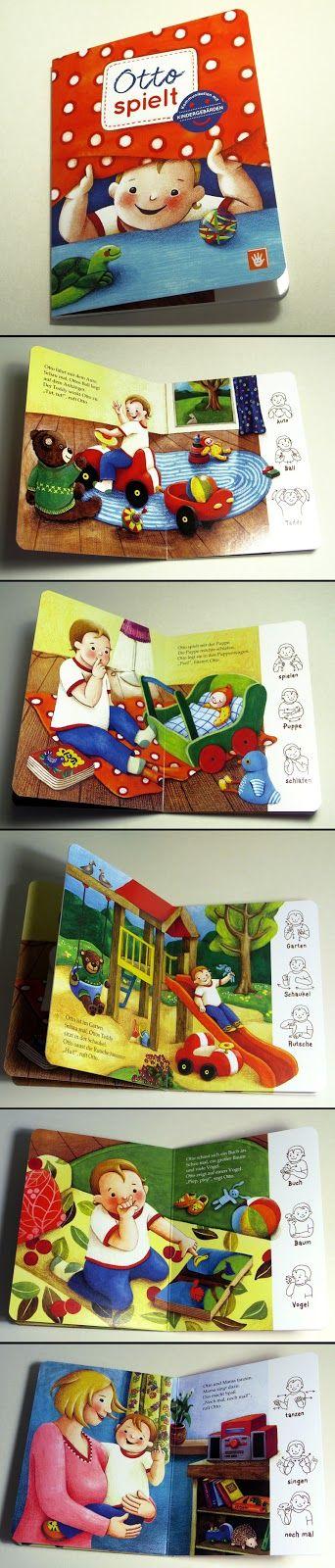 Otto spielt - Ein Bilderbuch mit  #Gebärden #Babyzeichensprache #Babysigns