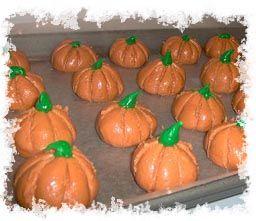 Peanut butter pumpkins~~Peanuts, Butter Pumpkin, Halloween Pumpkins, Pumpkin Food And Recipe, Art Peanut, Pnut Butter, Peanut Butter, Butter Halloween, Pumpkin Butter