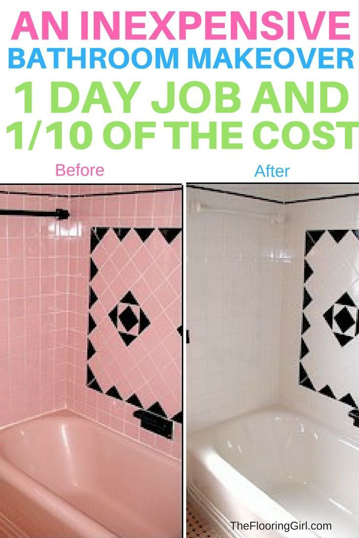 Beautiful Tile Reglazing An Expensive Way To Remodel Your Bathroom For Of  The With Cost To Update Bathroom