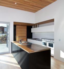 KIROMOKO KITCHEN. This kitchen, is a new contemporary townhouse, we designed the kitchen to maximise the spa. MELANIECRAIG DESIGN