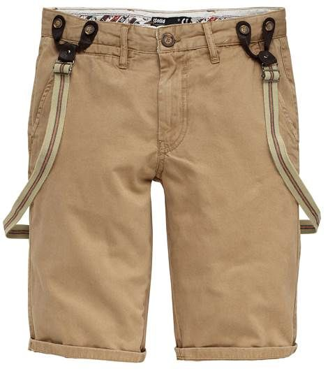 Solid Jeans: Herren Shorts 'Little Mel', braun von Solid
