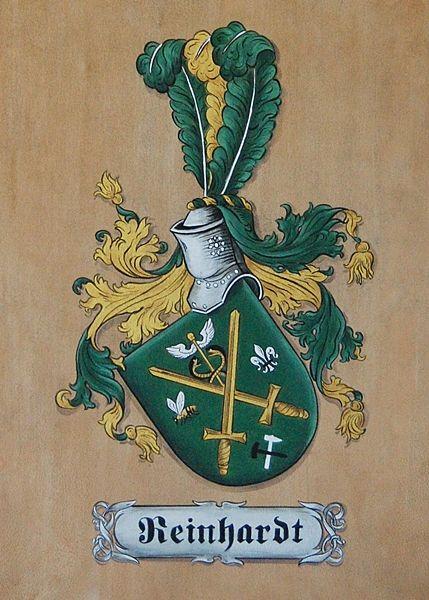 Coat of Arms - family crest art, heraldry art hand painted on soft leather by heraldic artist Gerhard - ML Mural Art/ Heraldry Art