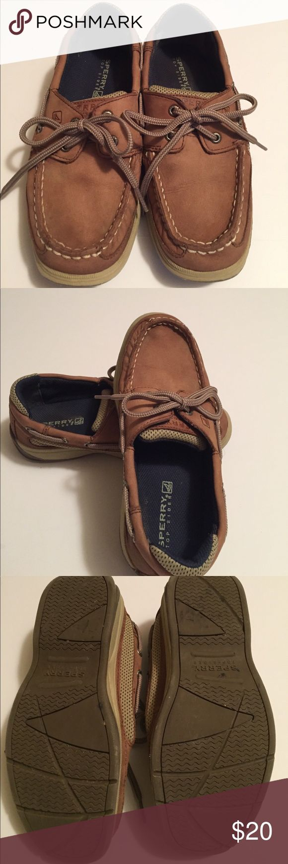EUC Kids Sperry EXCELLENT USED CONDITION! Very clean suede Sperry Topsiders. Purchased at the Sperry Boutique in Charleston SC Sperry Top-Sider Shoes