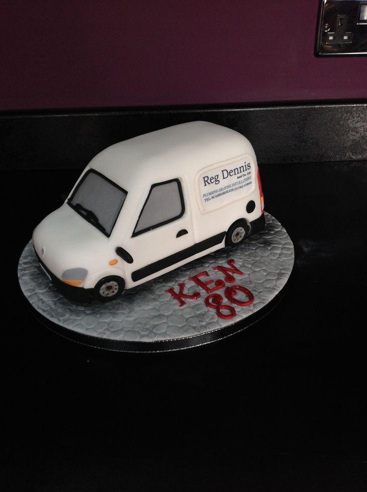 Renault kangoo van cake