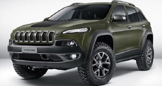 2017 Jeep Cherokee Krawler
