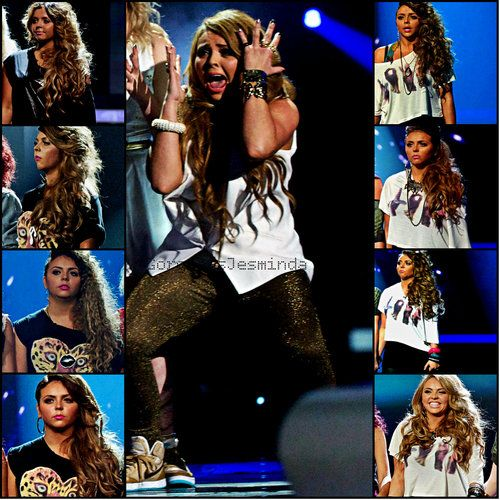 Jesy Nelson X Factor Result Shows