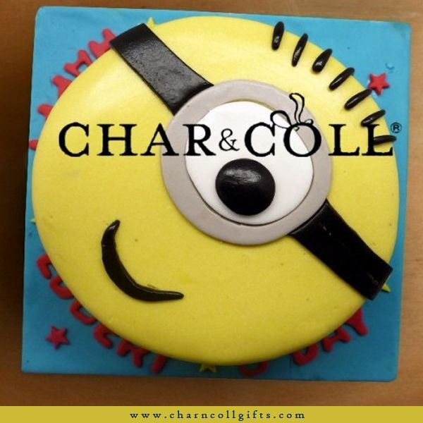 The despicable me minion fever is here to stay. We offer minions birthday cake 16cm covered in yellow fondant icing, i can guarantee freshness of all our products. Since everything is made to order I will only make your order upon your confirmation. Order now : www.charncollgifts.com | 021-7197234 #BirthdayCake #Birthday #Cake #Minions #DespicableMe #Fresh #MinionFever