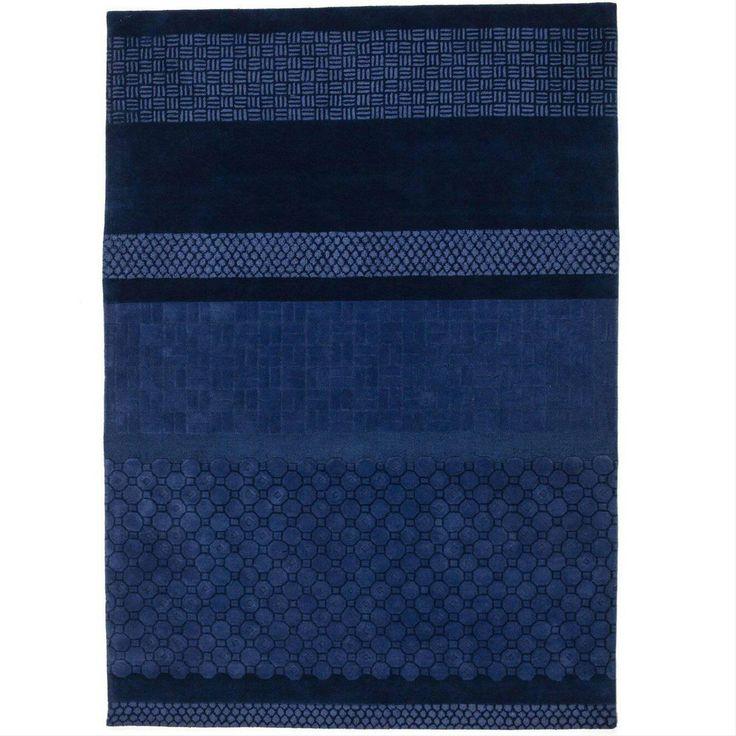Blue Jie Hand-Tufted Wool Area Rug by Neri & Hu Medium #FavoriteAreaRugs