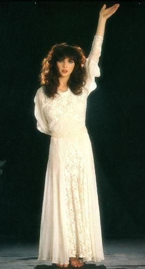 Kate Bush, Wuthering Heights. She captured the essence of Emily Bronte's novel…