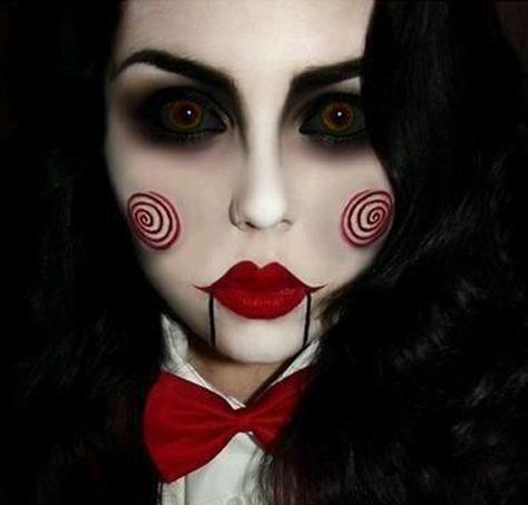 saw disfraz maquillaje