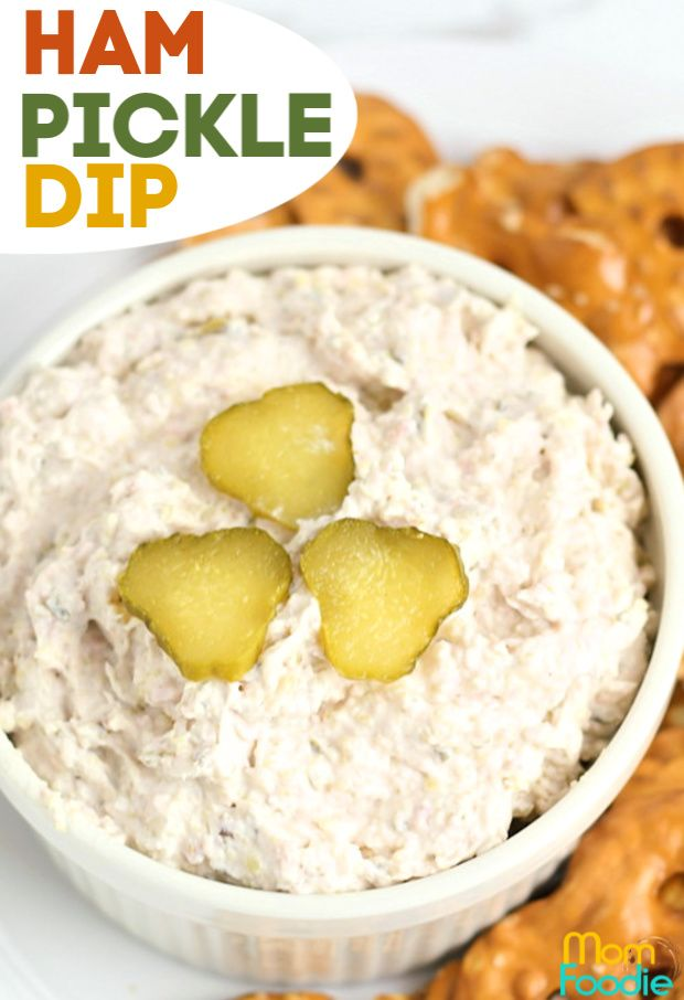 Ham Pickle Dip An Easy Low Carb Appetizer Dip Recipe Great Easter